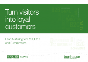 Turn visitors into loyal customers