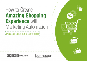 create amazing shopping experience with marketing automation