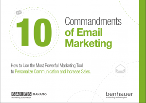 salesmanago ebook afbeelding commandments of email marketing